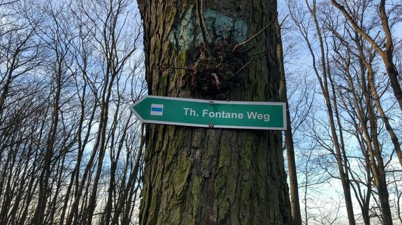 Fontane-Rundweg in Bad Freienwalde