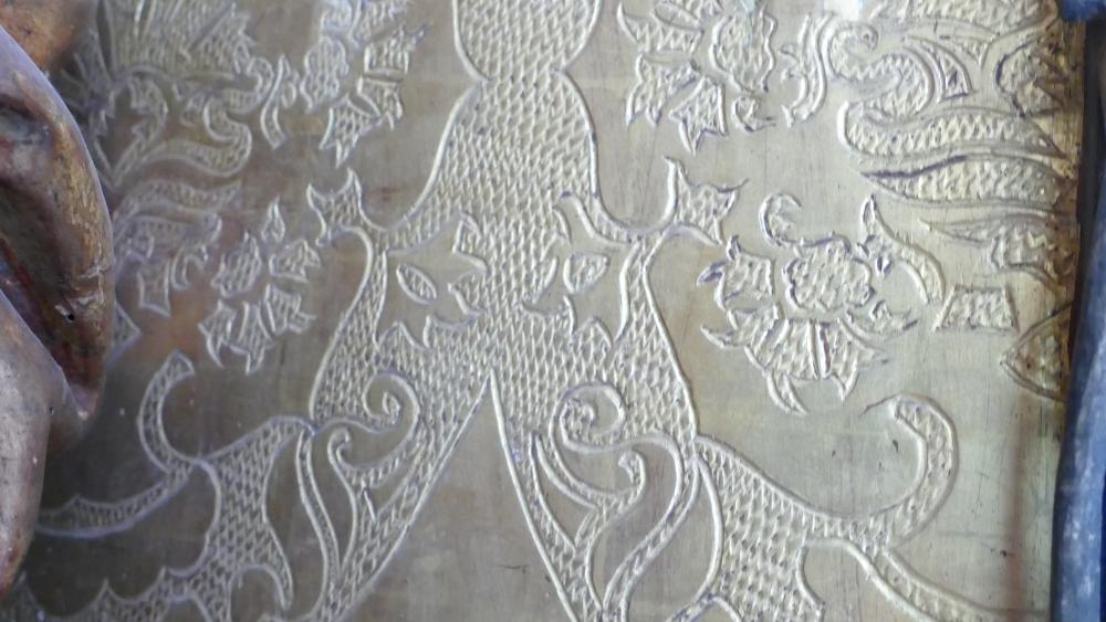 Die Rückwand des Lehniner Altars. Foto: Dommuseum